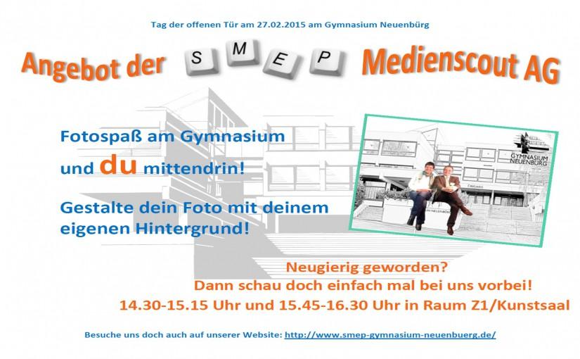 Tag der offenen Tür am 27.02.2015 am Gymnasium Neuenbürg für Schüler und Eltern der neuen Klassen 5