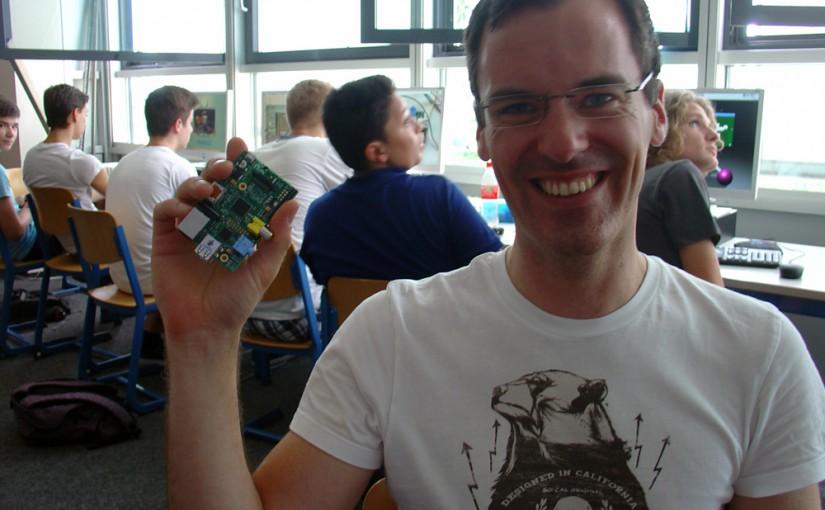 Programmieren mit dem Raspberry Pi – Projekttage mit Tobias Hübner