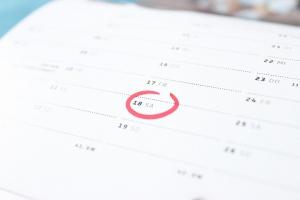 Der Termin, an dem der Workshop stattfinden soll, ist ein sehr relevanter Punkt bei der Planung eines Workshops.