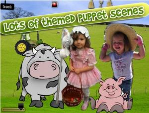 So könnte beispielsweise ein Produkt, das mit Puppet Pals erstellt wurde aussehen. (Quelle: www.itunes.apple.com, 14.06.16)