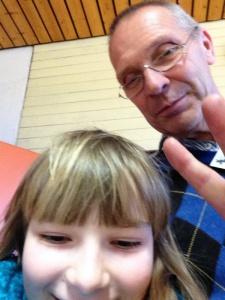 Bild mit einem Physiklehrer, den es zu finden galt
